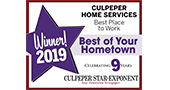 culpeper fredericksburg charlottesville hvac plumber best of your hometown 2019 winner